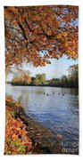 Sunbury On Thames Surrey Uk Beach Towel