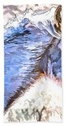 Sunday At Red Willows IIi Beach Towel