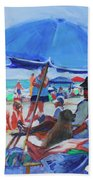 Sunday Beach Blues Beach Towel