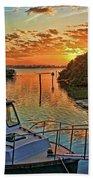 Sundown By H H Photography Of Florida Beach Towel