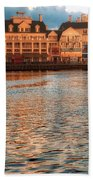 Sundown On The Boardwalk Walt Disney World Beach Towel