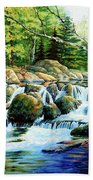 Sunfish Creek Beach Towel