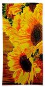 Sunflower 1 Beach Sheet