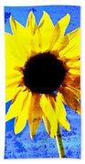 Sunflower 12 Beach Towel