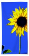 Sunflower 2 Beach Towel