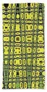 Sunflower #6595ew, Abstract, Beach Towel