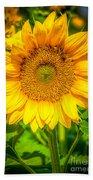 Sunflower 7 Beach Towel