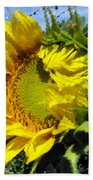 Sunflower By Design Beach Towel
