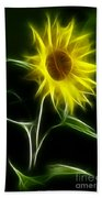 Sunflower Display Beach Towel