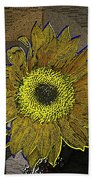 Sunflower Dreaming Beach Towel