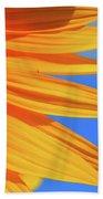 Sunflower Elegance Beach Towel