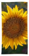 Sunflower - Facing East Beach Towel