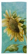 Sunflower Number One Beach Towel
