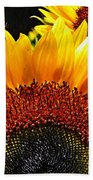 Sunflower Rise Beach Towel