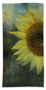 Sunflower Sea Beach Towel