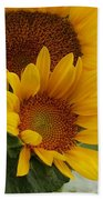 Sunflower Show Beach Towel