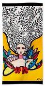 Sunflower Soul Beach Towel
