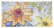 Sunflower Tropics Part 2 Beach Sheet