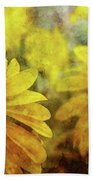 Sunflowers And Water Spots 2773 Idp_2 Beach Towel