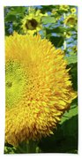 Sunflowers Art Prints Sun Flower Giclee Prints Baslee Troutman Beach Towel