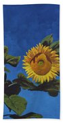 Sunflowers Beach Towel by Marco Busoni