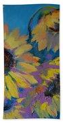 Sunflowers Beach Towel