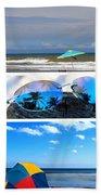 Sunglasses Needed In Paradise Beach Sheet