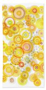 Sunlight Ripples Beach Towel