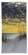 Sunlit Passage Beach Towel