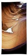 Sunlit Slot Canyon Beach Towel