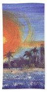 Sunny  Palms Beach Towel