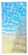Sunny Tree Beach Towel