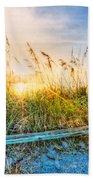 Sunrays On The Beach Beach Towel