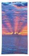 Sunrise At Atlantic Beach Beach Towel