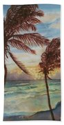 Sunrise At Cattlewash 4 Beach Towel