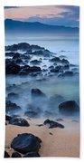 Sunrise At Ho'okipa - Sunrise At Hookipa Beach In Maui Beach Towel