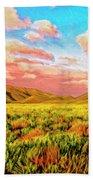 Sunrise At Montana De Oro Beach Towel