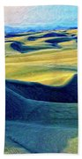 Sunrise At Oceano Sand Dunes  Beach Towel