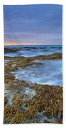 Sunrise Beneath The Storm Beach Towel by Mike  Dawson