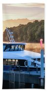 Sunrise Cruise To Doubtful Sound Beach Towel