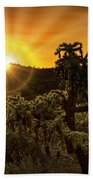 Sunrise Done With An Arizona Flare Beach Towel