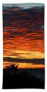 Sunrise Drama By The Sea Beach Towel
