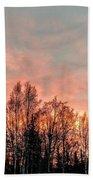 Sunrise Fire  Beach Towel