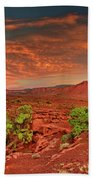 Sunrise In Capitol Reef National Park Utah Beach Towel