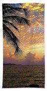 Sunrise In Fajardo, Puerto Rico Beach Towel