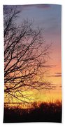 Sunrise In Illinois Beach Towel
