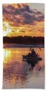 Sunrise In Murrells Inlet, Sc Beach Sheet