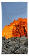 Sunrise In Torres Del Paine Beach Towel