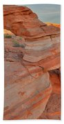 Sunrise In Valley Of Fire State Park Beach Towel