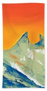 Sunrise La Silla Beach Towel